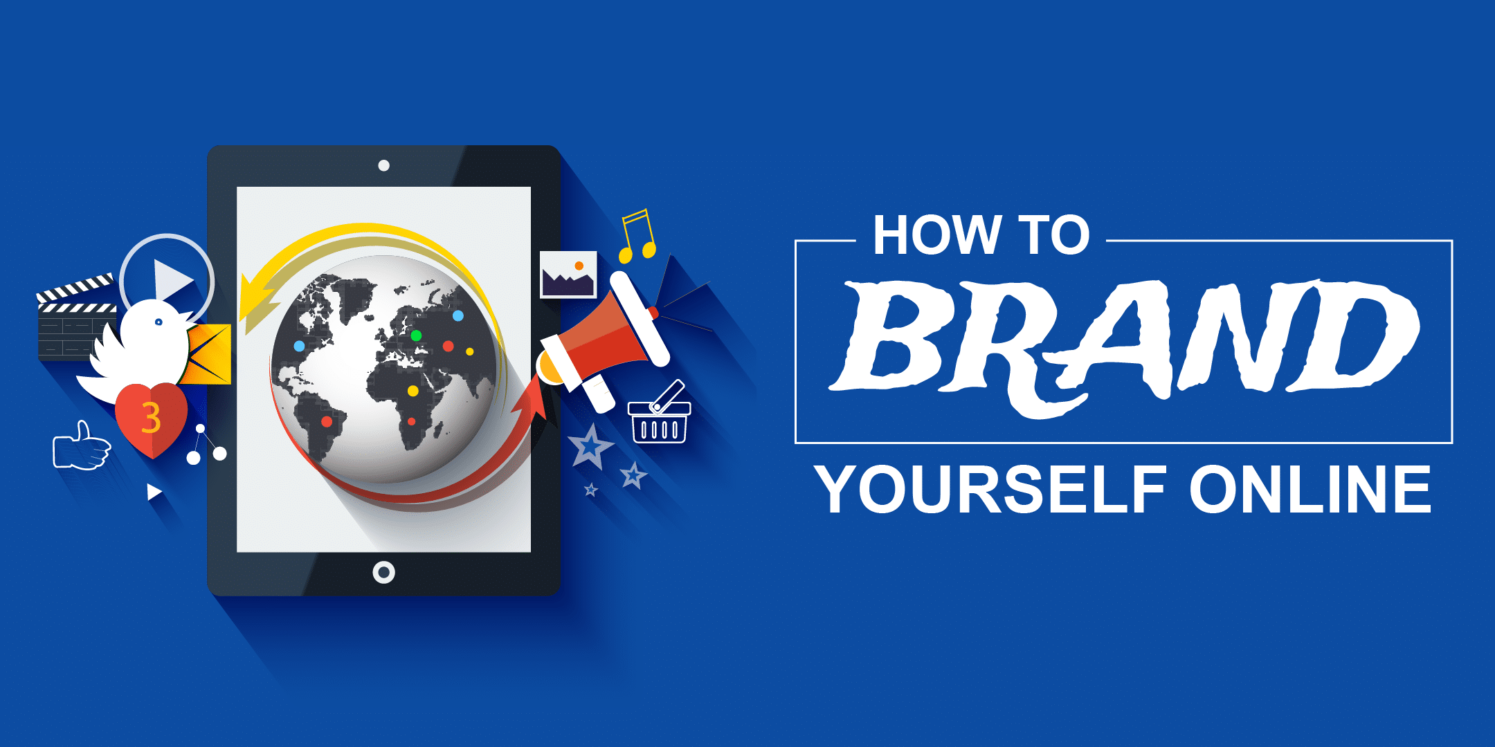 Brand yourself online image
