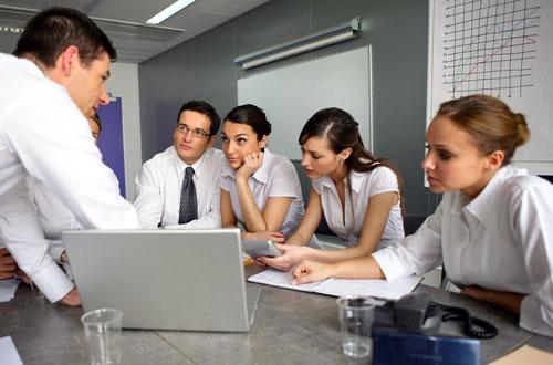 Team in Business Meeting