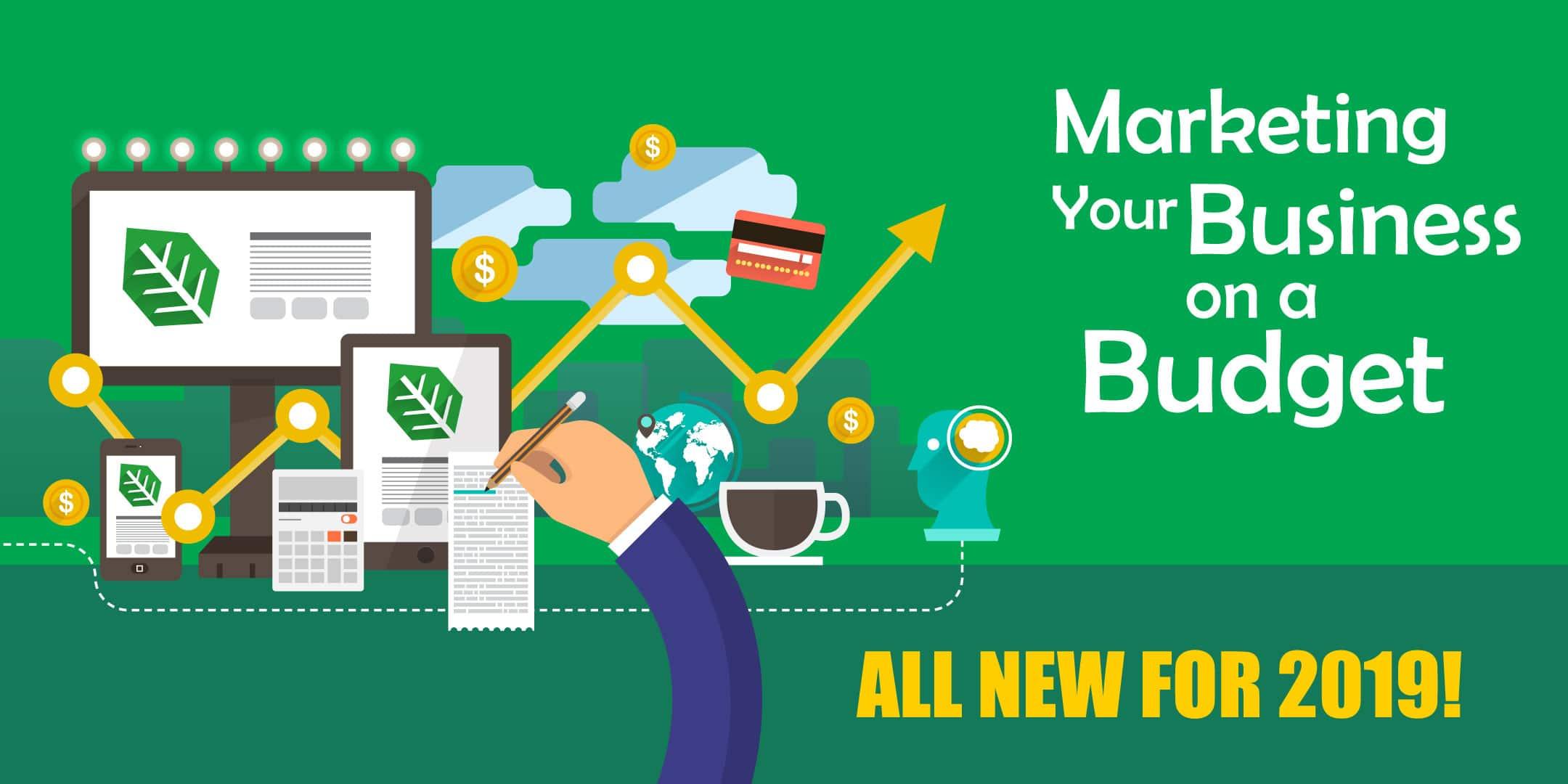 marketing on a budget header