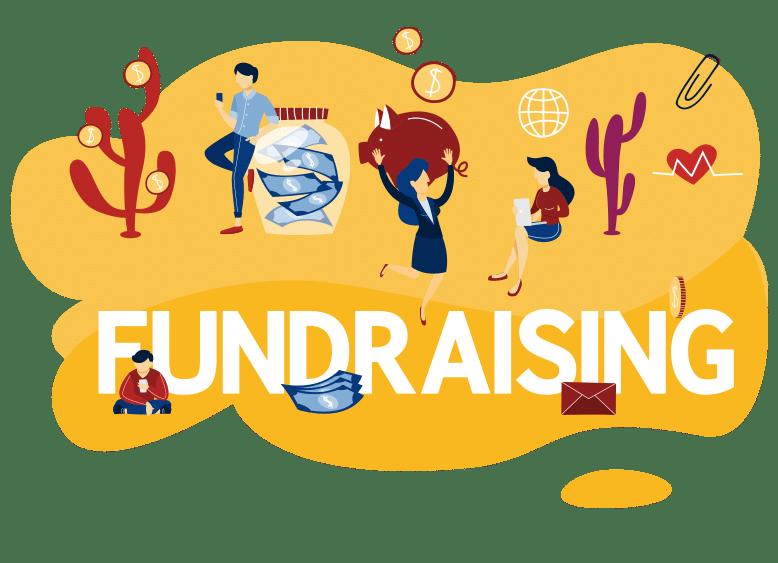 Fund raising concept