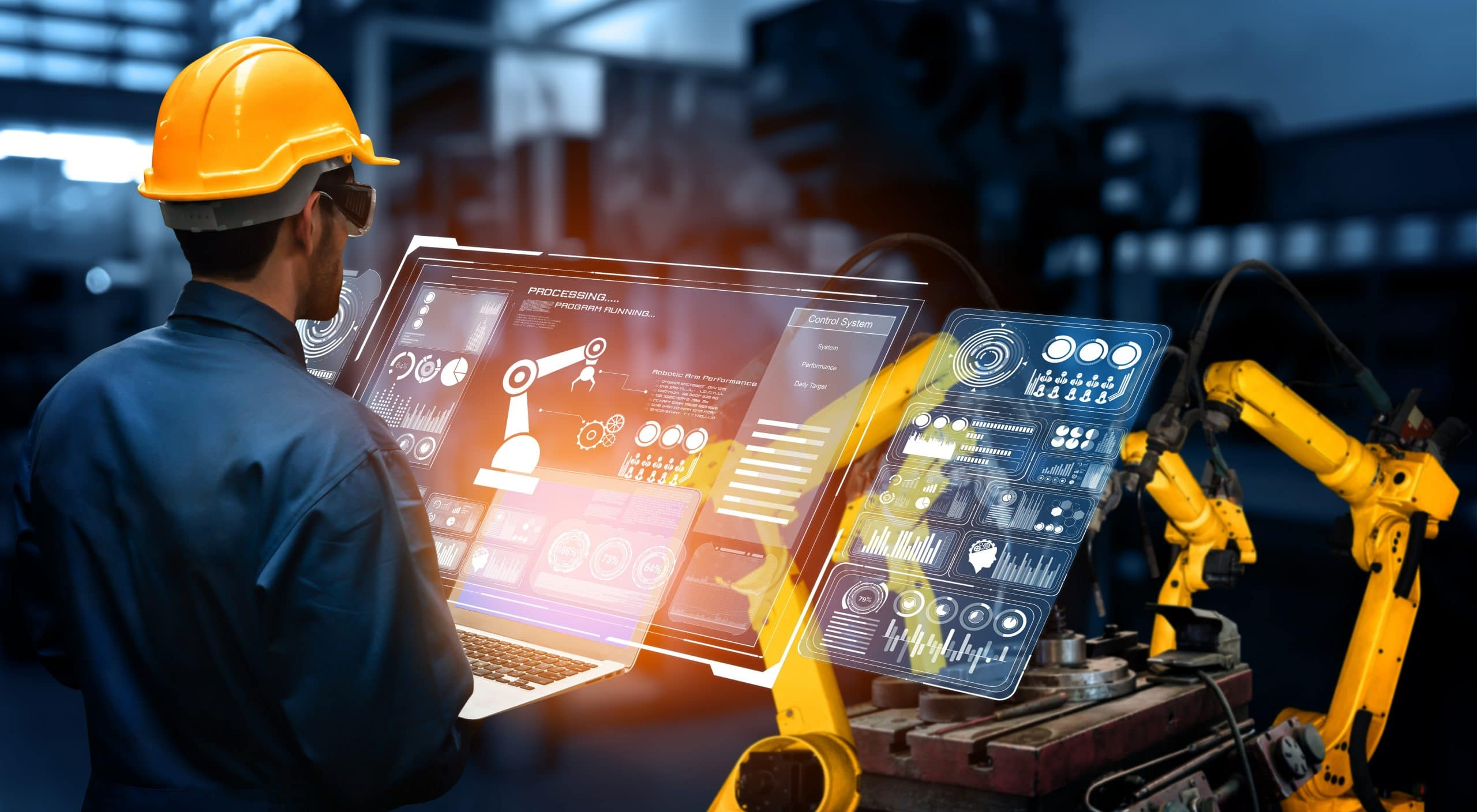 automation manufacturing process of the Industry