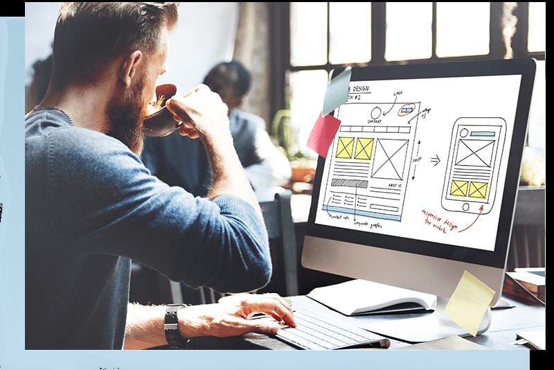 Web Design Online Technology Content